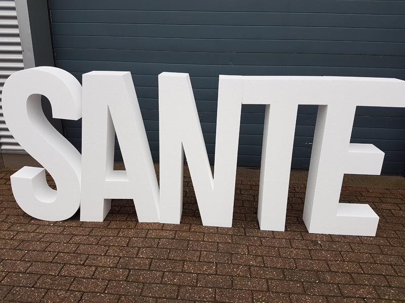 letters piepschuim vanaf 1 meter